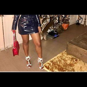 Dresses & Skirts - Patent leather skirt